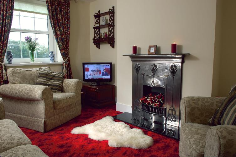 Cosy Lounge at Rhos Ddu  Cottage - a truly romantic retreat