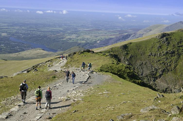 September walk on Snowdon