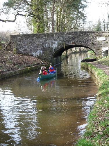 Canoe on Monmouthshire & Brecon canal (300m)