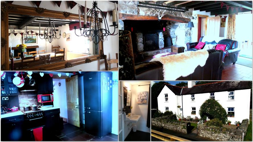 Temporary camera phone uploads. More follows. Dining room, First sitting area. Retro cottage kitchen and Washroom.