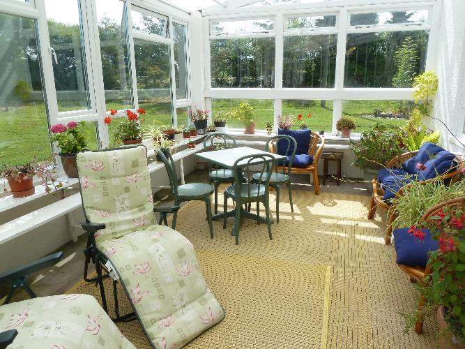 Conservatory to relax in