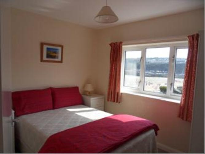 Apartment No 12 Bedroom with views towards harbour