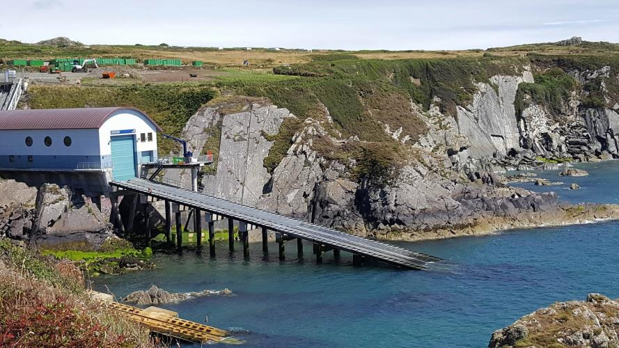 Lifeboat Station @ St Justinians