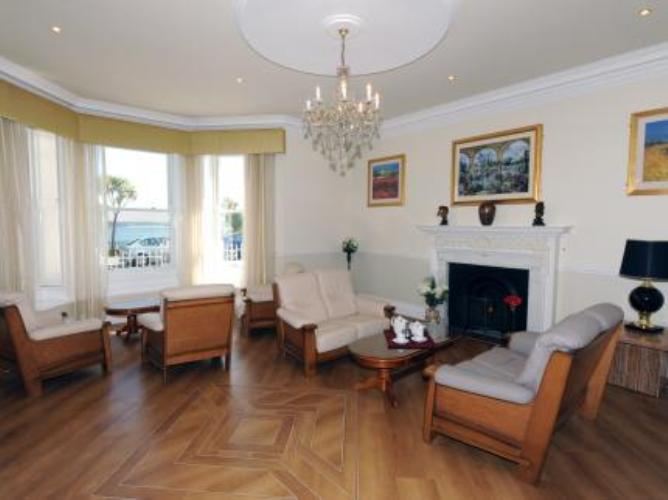 Lounge at Atlantic Hotel in Tenby