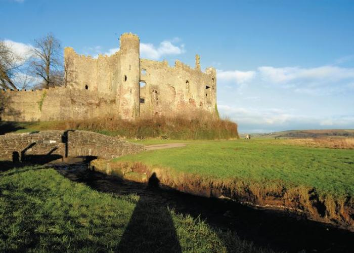 Local Castle at Laugharne