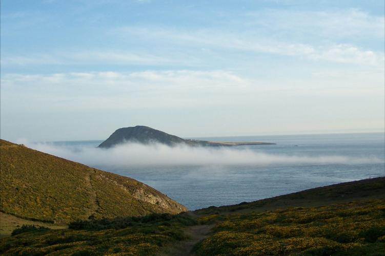 Bardsey Beyond the Mist