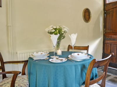 Dining Table - Game Keepers Holiday Cottage Llangadog