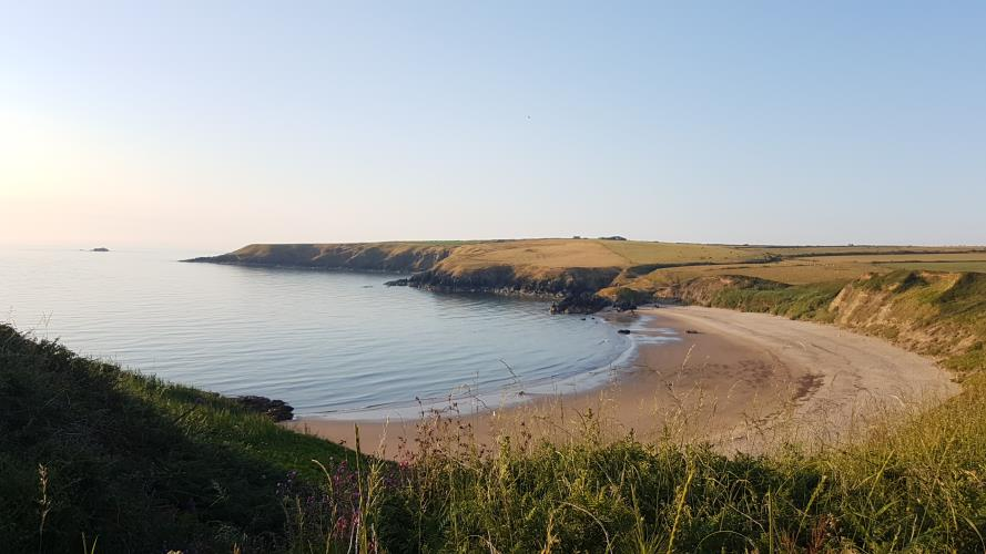 The famous Whistling Sands