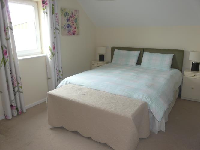 Double Bedroom - Dafarn Rhos Cottage Moelfre - Anglesey Coastal Cottage