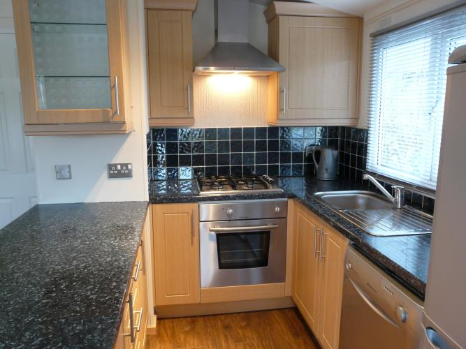 Kitchen - Beach Lodge - Anglesey Coastal Cottage - Moelfre