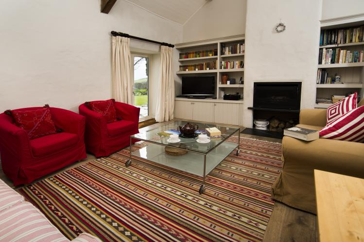 Lounge - Hebog Bach Holiday Cottage, Criccieth
