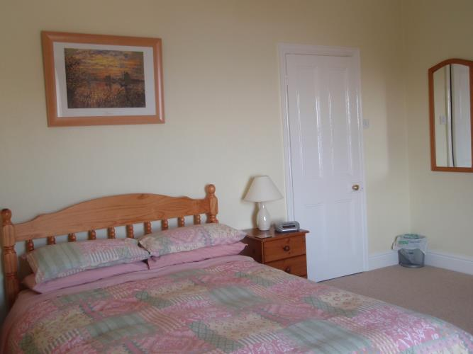 double bedroom with fantastic view over Llandudno Bay