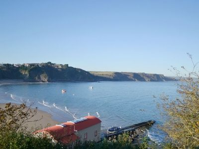 Pembrokeshire Luxury Holiday Apartment With Indoor Pool At Tenby Caldy House