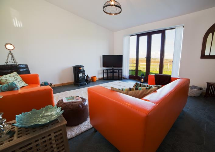 Union windmill unique quirky anglesey self catering rental for B q living room doors