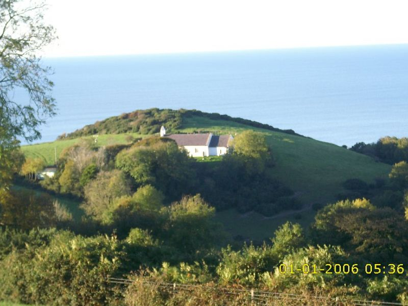 Penbryn Church from our field