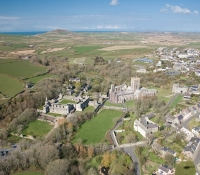 Arial View of St Davids