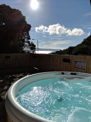 Sea Views From Hot Tub