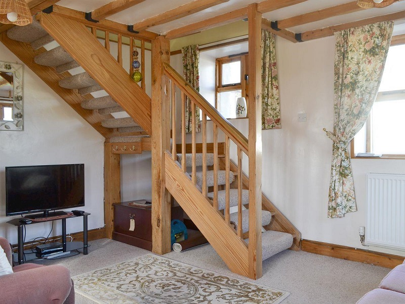 Lounge - The Smithy Holiday Apartment, Moelfre, Anglesey