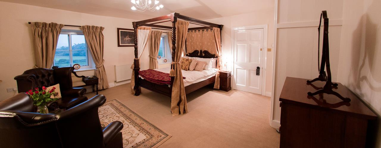 The William Madocks Room with King Size Four Poster Bed.