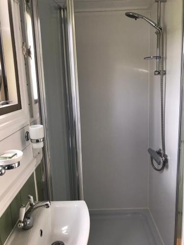 Cae Manal Glamping - En-Suite Shower Room