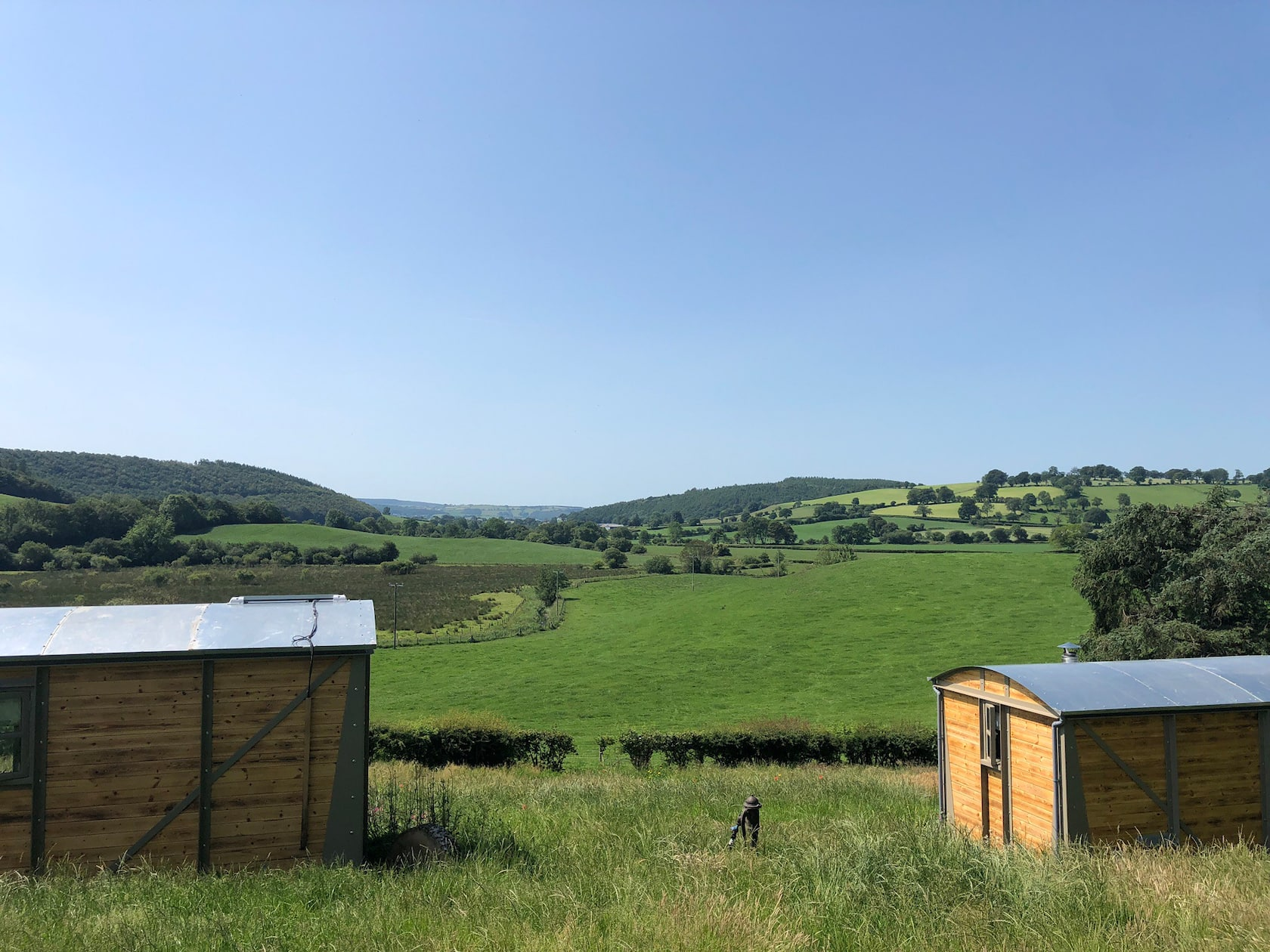 Cae Manel Farm Glamping  - Lampeter Carriages