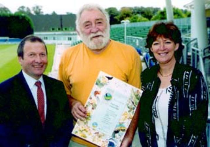 Gold David Bellamy Award