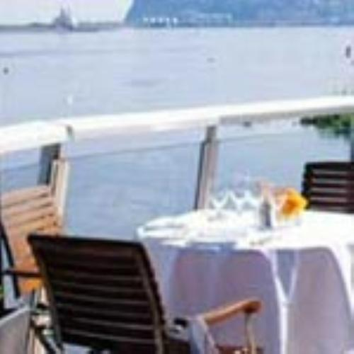 Dine al fresco with breathtaking views of Cardiff Bay
