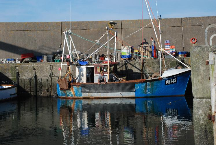 Amlwch Ports fishing harbour Near Rhiwlas Cottages - Anglesey Coastal Cottages - Near Moelfre
