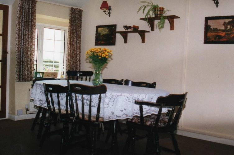 Dining area - Ty'n Lon - Anglesey Country Cottage - Near Llanfair PG