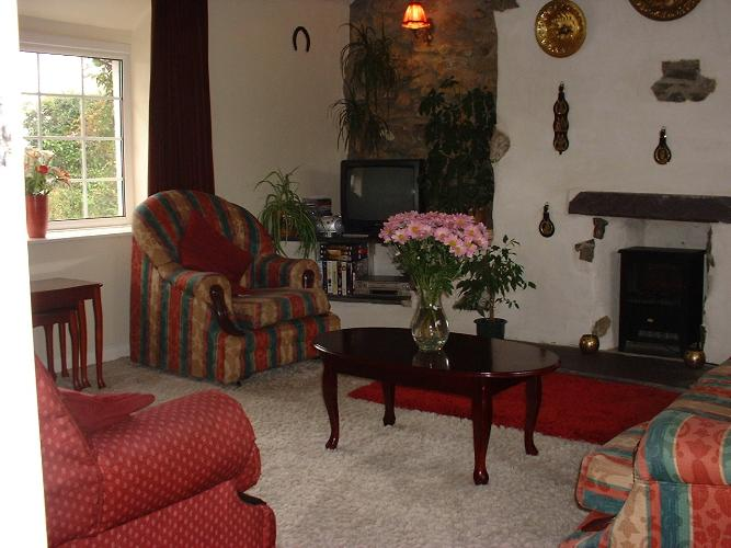 Living room - Ty'n Lon - Anglesey Country Cottage - Near Llanfair PG