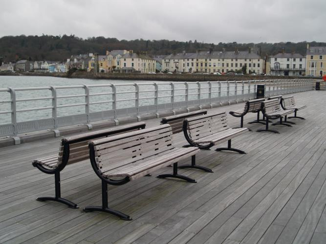 A view of Beaumaris from the Pier