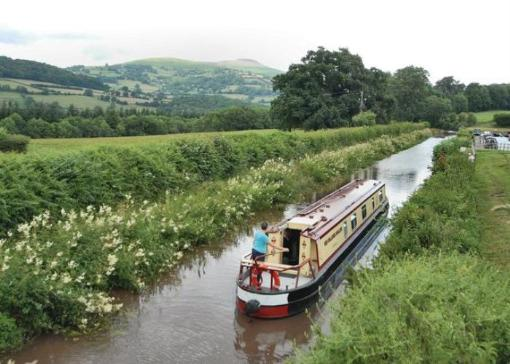 Brecon Canal Boat Holiday