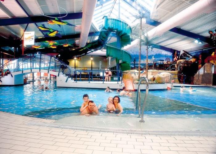 Indoor Swimming Pool With Slides