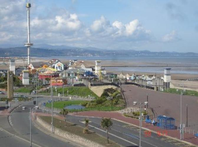 Rhyl Seafront Bed And Breakfast North Wales Coast The