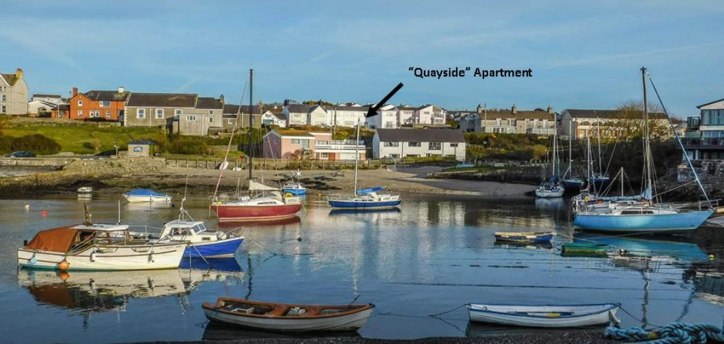 Quayside Cemaes Bay, Anglesey