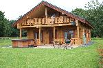 Dwr Y Felin Log Cabins Carno Holiday Cottages/Self Catering Carno Mid Wales Montgomeryshire Powys