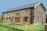 Cwm Corn Barn - Newtown Self Catering Cottage with Hot Tub