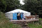 Hidden Valley Yurts - Chepstow Caravan Parks and Chalets Chepstow Wye Valley and Monmouthshire